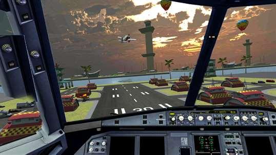 Airplane Flight Sim 2019 for Windows 10 PC Free Download