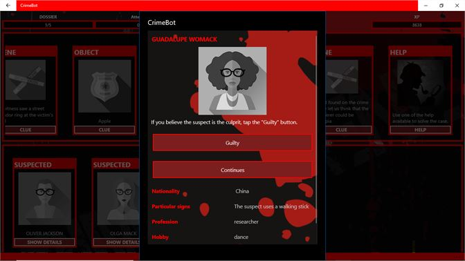 Get Criminal Investigation - Detective Game CrimeBot