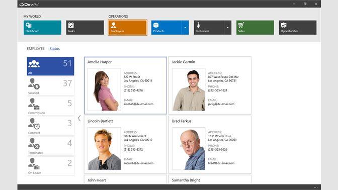 Get DevExpress Windows 10 Hybrid App Demo - Microsoft Store