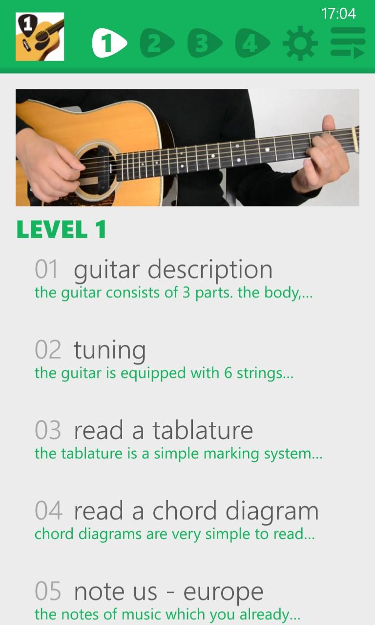 guitar lessons beginners 1 lite for windows 10 mobile. Black Bedroom Furniture Sets. Home Design Ideas