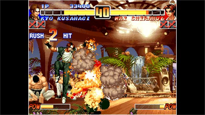 Buy Aca Neogeo The King Of Fighters 96 Microsoft Store