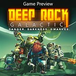 Deep Rock Galactic (Game Preview) Logo