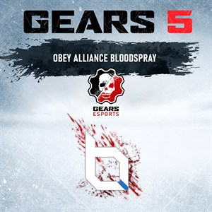 Obey Alliance Coloured Blood Spray Xbox One