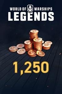 World of Warships: leyendas, 1250 doblones
