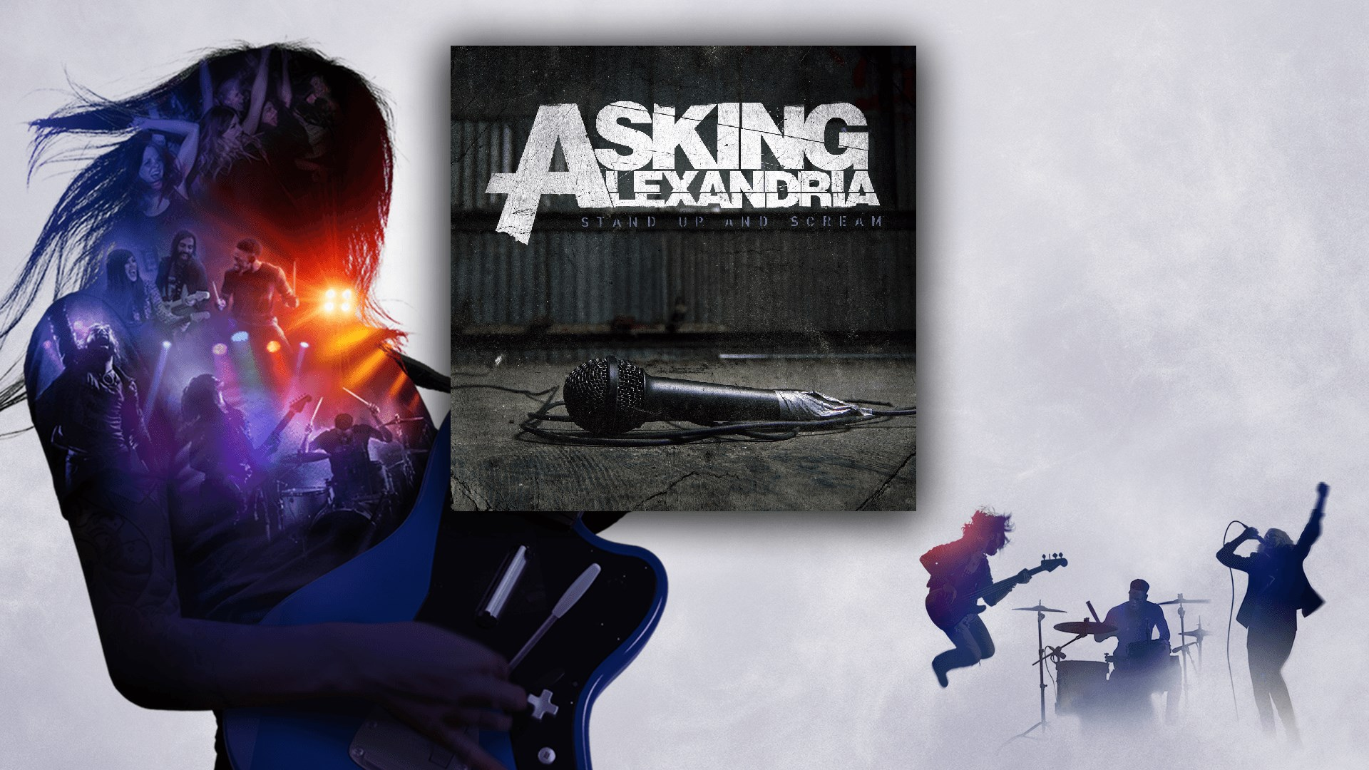 """Final Episode (Let's Change the Channel)"" - Asking Alexandria"