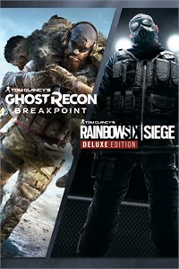 Carátula del juego Tom Clancy's Rainbow Six Siege and Tom Clancy's Ghost Recon Breakpoint Bundle