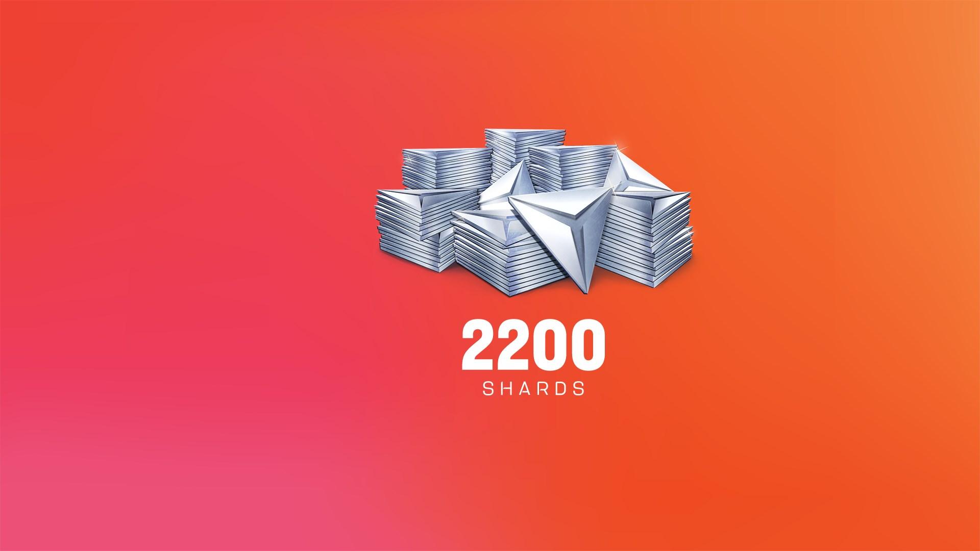 Набор осколков Anthem™: 2 200 шт.
