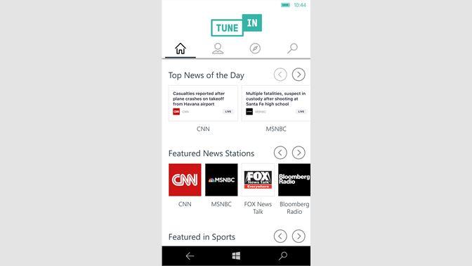 Get TuneIn Radio - Microsoft Store en-IE