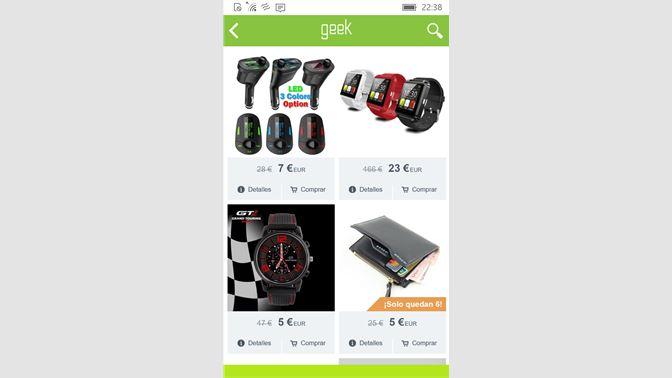 Get Geek app-Wish - Microsoft Store