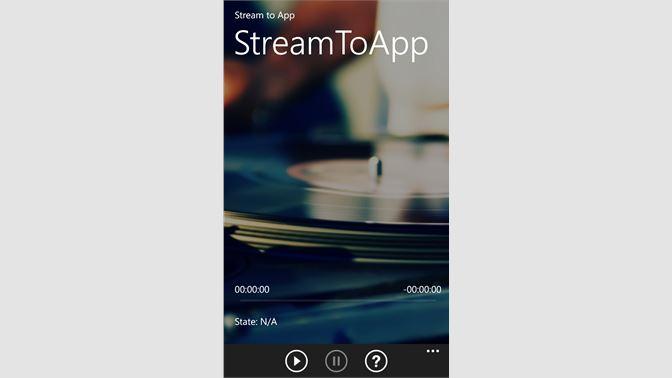 Get StreamToApp - Microsoft Store