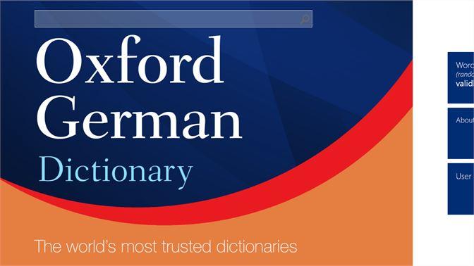 Buy Oxford German Dictionary - Microsoft Store
