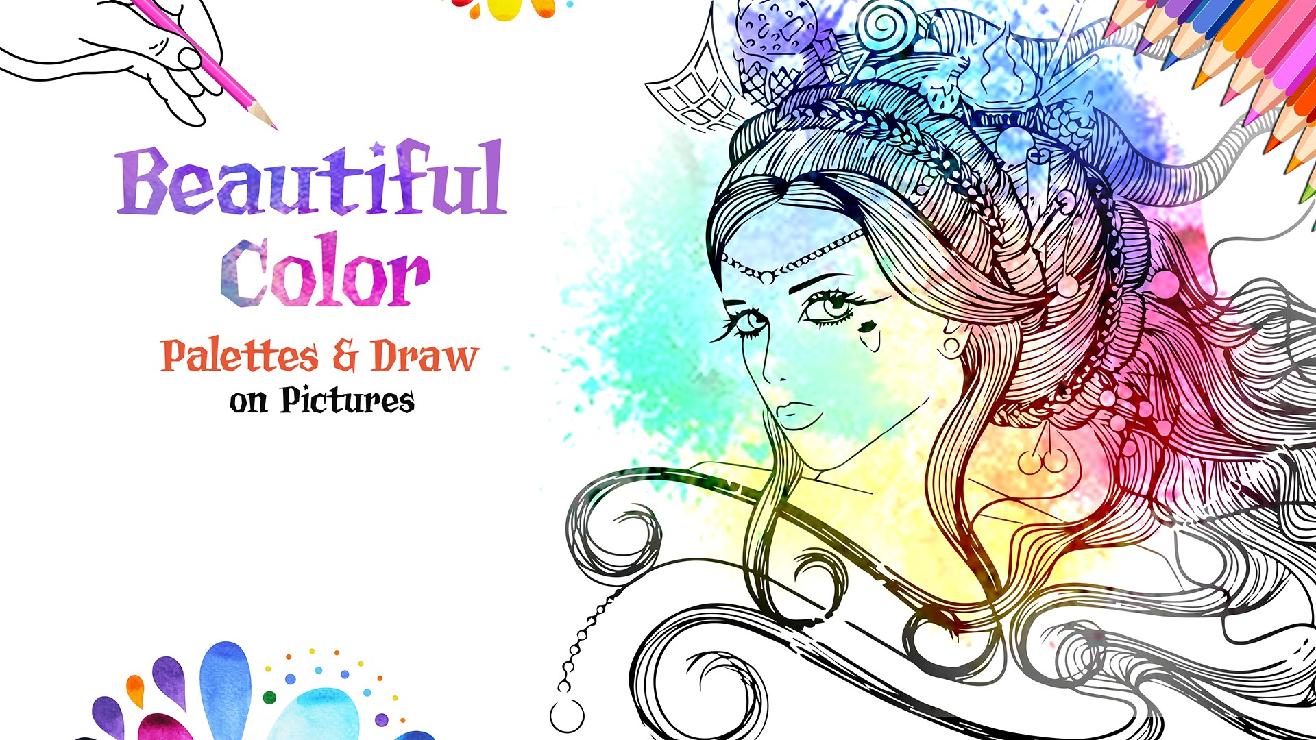 Coloring Book for You and Me - Tap and Paint beziehen ...