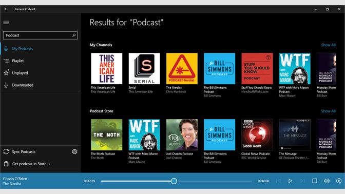 Get Grover Podcast - Microsoft Store