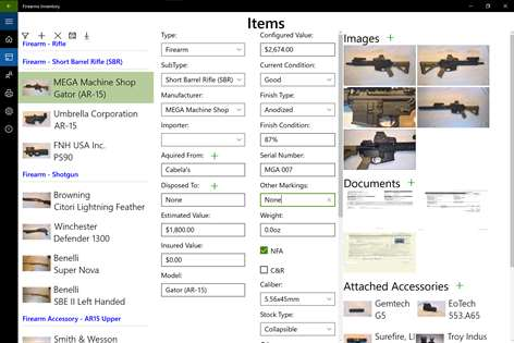 Taxi Receipt Image Buy Firearms Inventory  Microsoft Store Cash Invoice Template with Blank Receipt To Print Excel Screenshot Items Page Free Printable Invoice Template Pdf