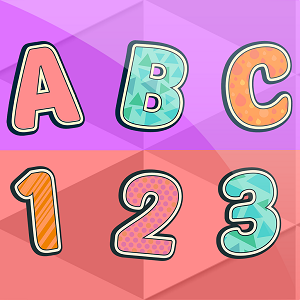 Letters and Number Flashcards and sounds for Kids