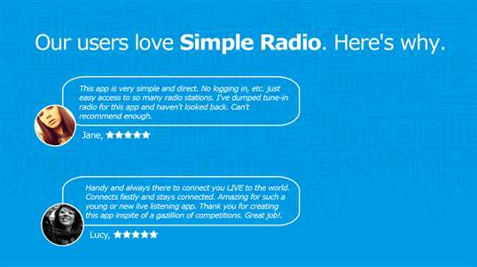Simple Radio FM - Listen Live to Online Radio, Music and Talk