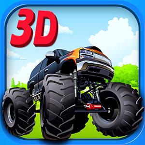 Monster Truck Parking 3D
