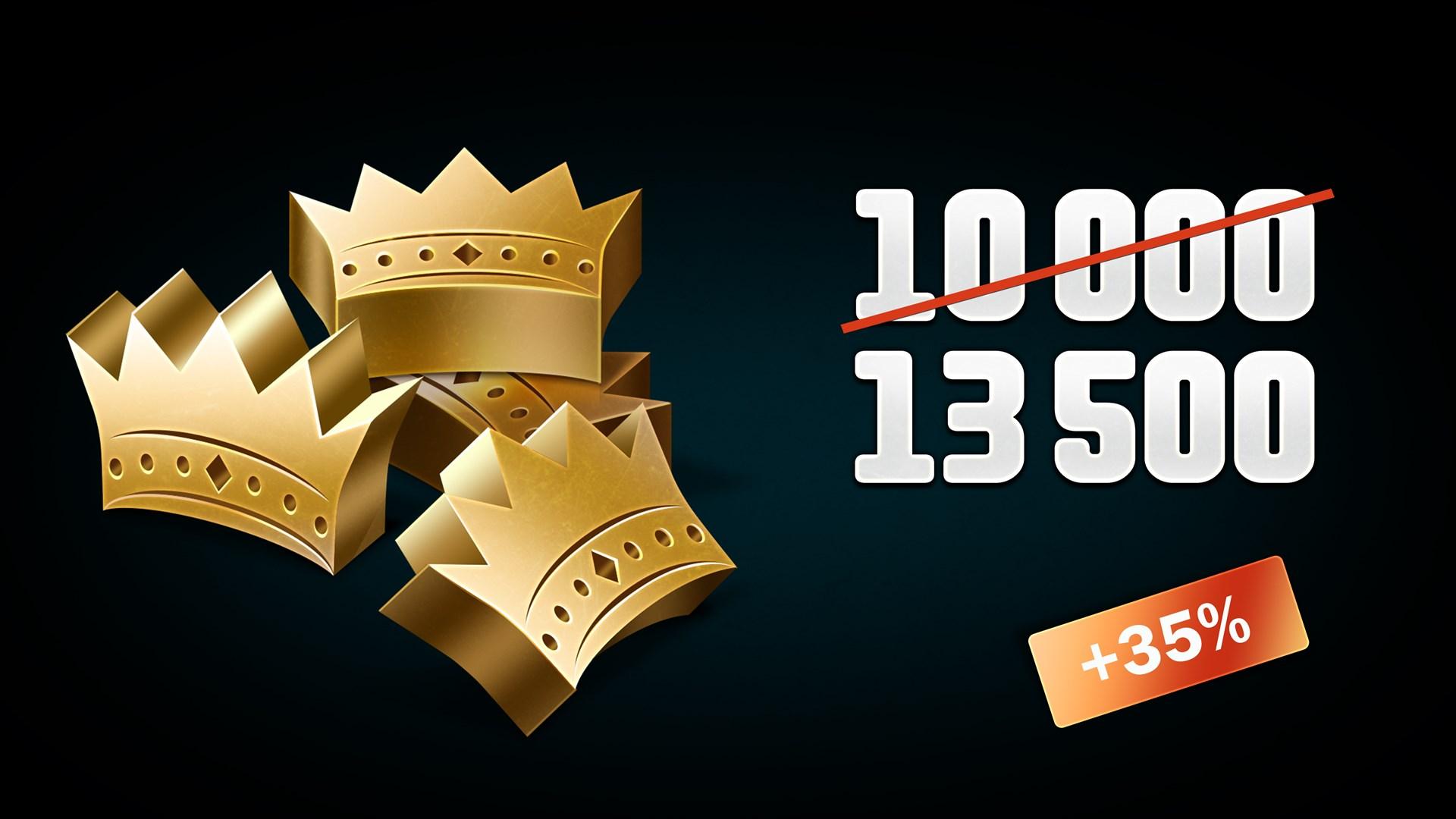 CRSED: F.O.A.D. - 10000 (+3500 Bonus) Golden Crowns