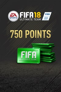 750 FIFA 18 Points Pack