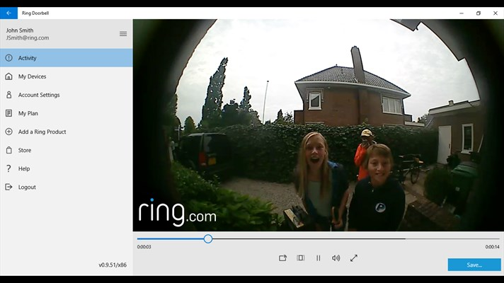Official Ring Video Doorbell app now available for Windows