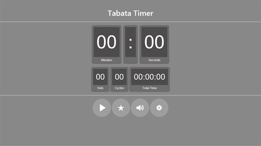 Tabata Workout Interval Timer screenshot