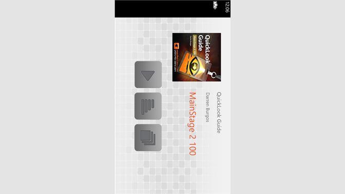 Get MainStage 2 - QuickLook - Microsoft Store