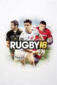 Carátula para el juego RUGBY 18 de Xbox 360