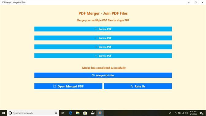 PDF Merger - Join PDF Files