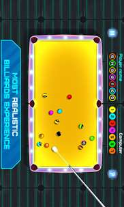 Space Pool: Billiards Snooker - 8 Ball Arcade 2D screenshot 7