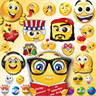 Smiley Emoticons for Facebook, Twitter & all Messengers