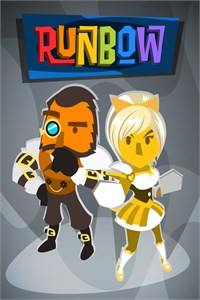 Carátula para el juego Runbow: New Costume and Music Bundle de Xbox 360