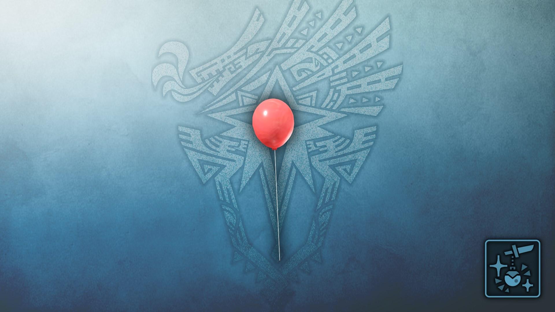Anhänger: Roter Ballon