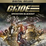 G.I. Joe: Operation Blackout - Digital Deluxe Logo