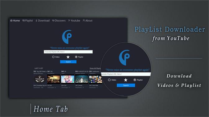 Get Youtube PlayList Downloader - Best Downloader & Converter - Microsoft  Store en-MK