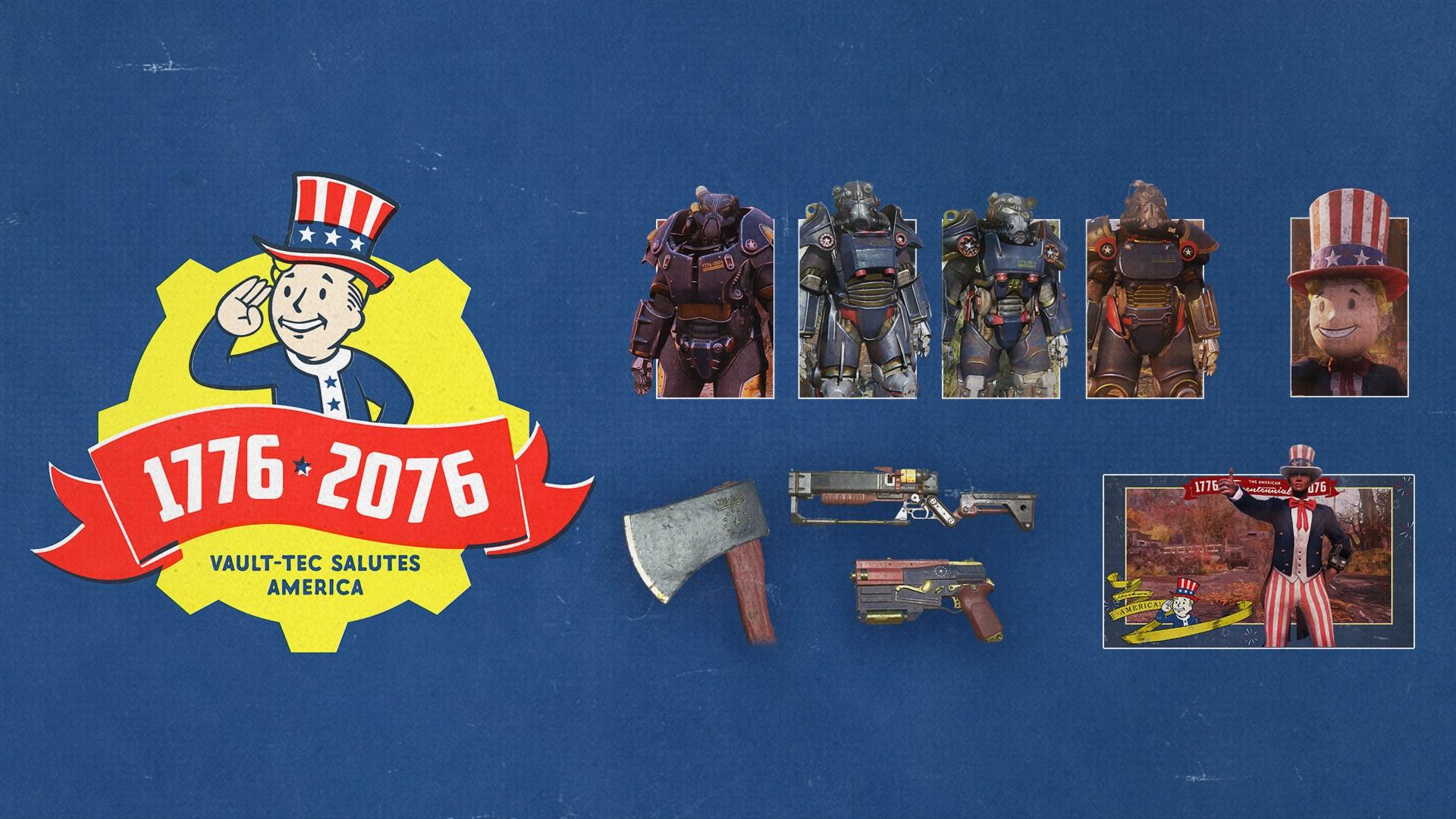 Fallout 76: Tricentennial Pack