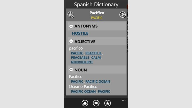 Get Spanish Dictionary Free - Microsoft Store