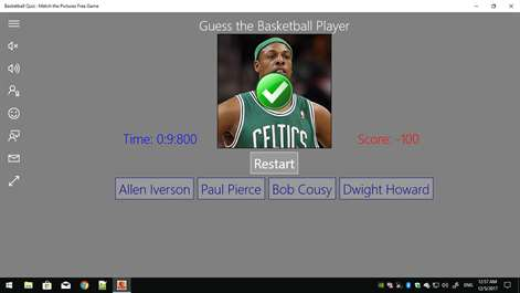 Basketball Quiz : Match the Pictures Free Game Screenshots 2