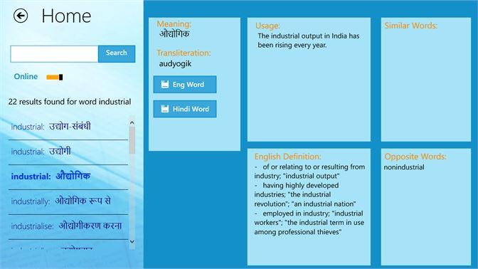 Get Hinkhoj Hindi English Dictionary - Microsoft Store en-IN