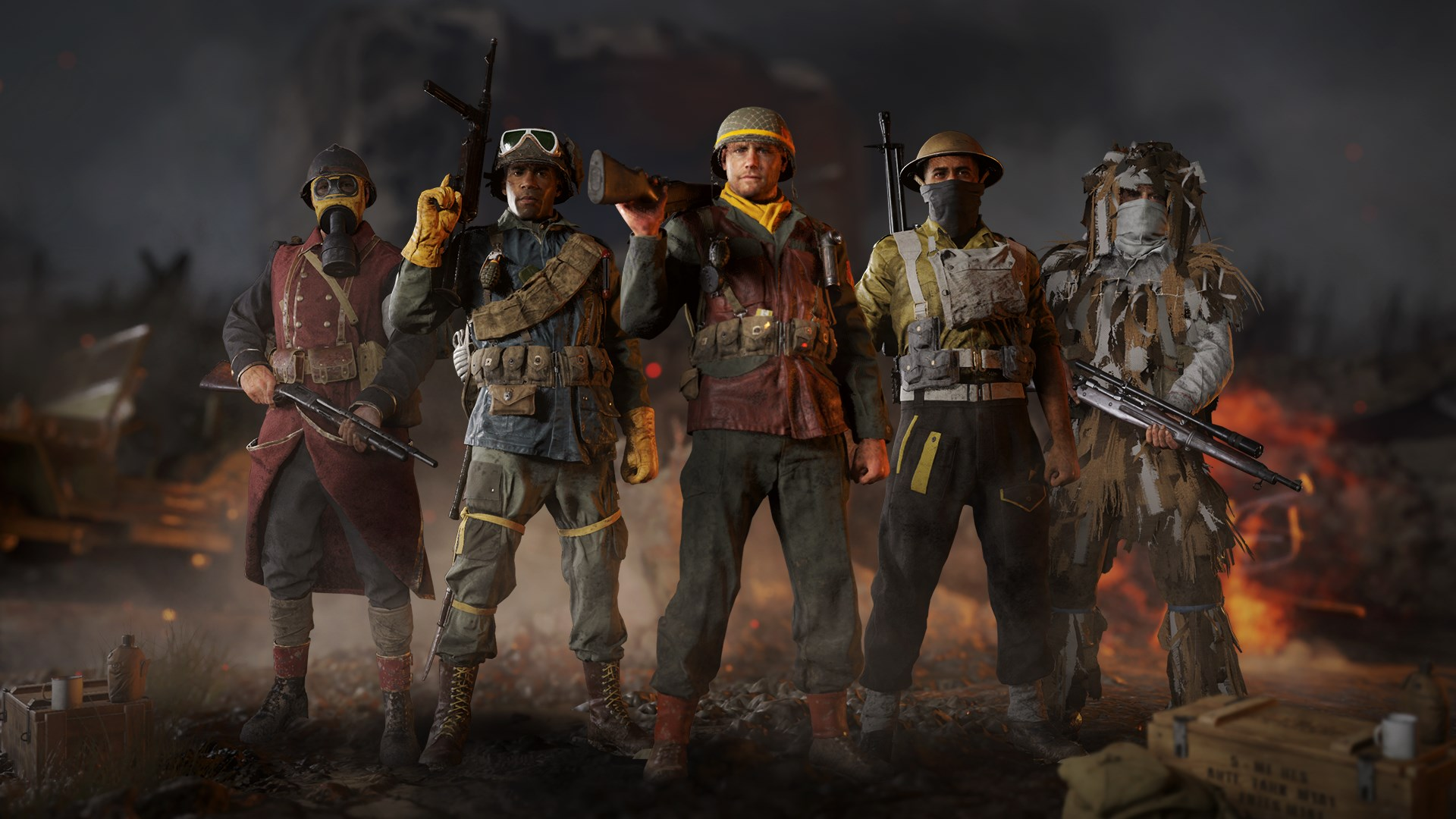 Call of Duty®: WWII - Divisions Pack