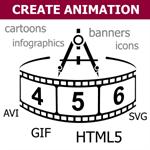Aphalina Animation & Banner Maker Logo