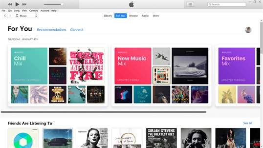 iTunes screenshot 5