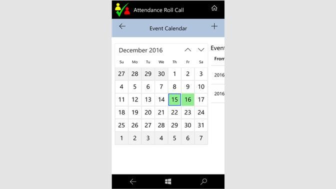 Buy Attendance Roll Call - Microsoft Store