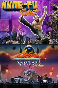 Pacote Kinect: Kung-Fu & Air Guitar Warrior