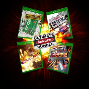 Ultimate Danger Bundle - 4 Dangerous Games including Dangerous Driving Xbox One