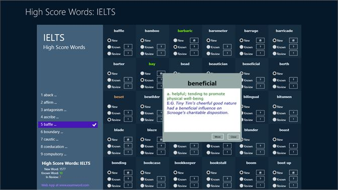 Buy High Score Words for IELTS - Microsoft Store en-QA