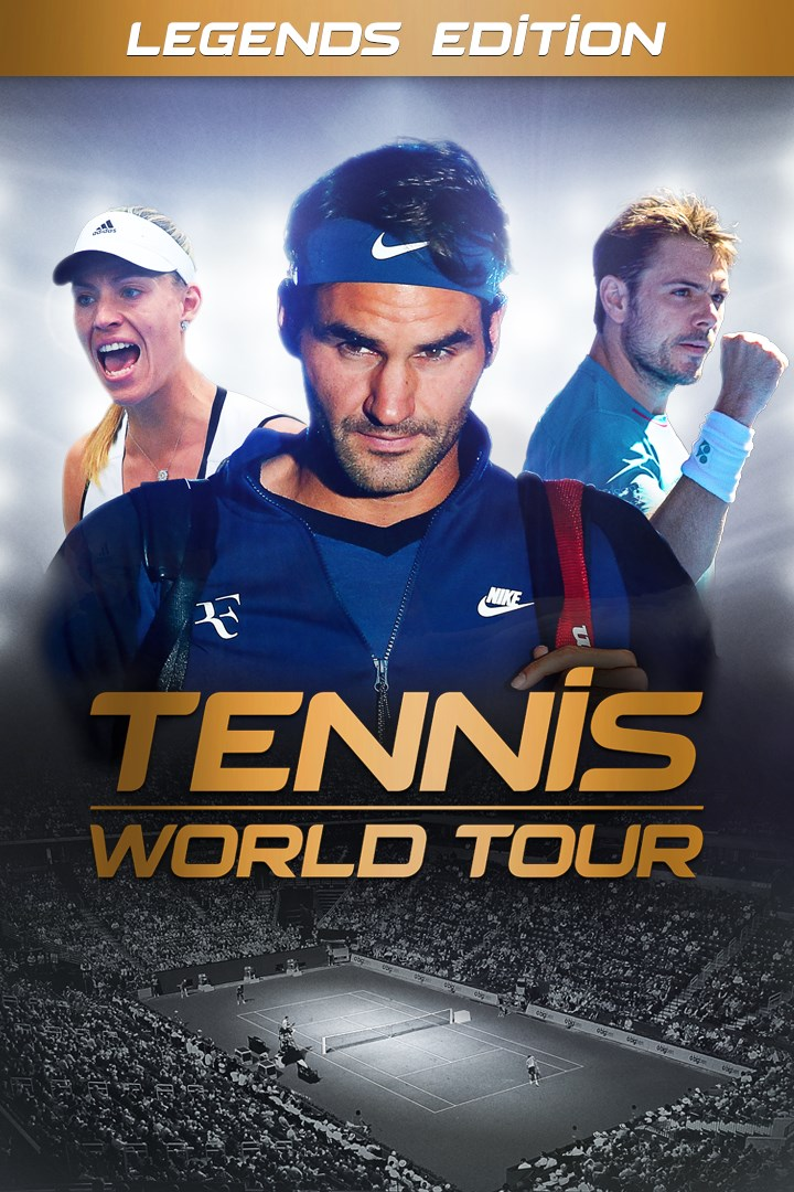 Buy Tennis World Tour Legends Edition - Microsoft Store