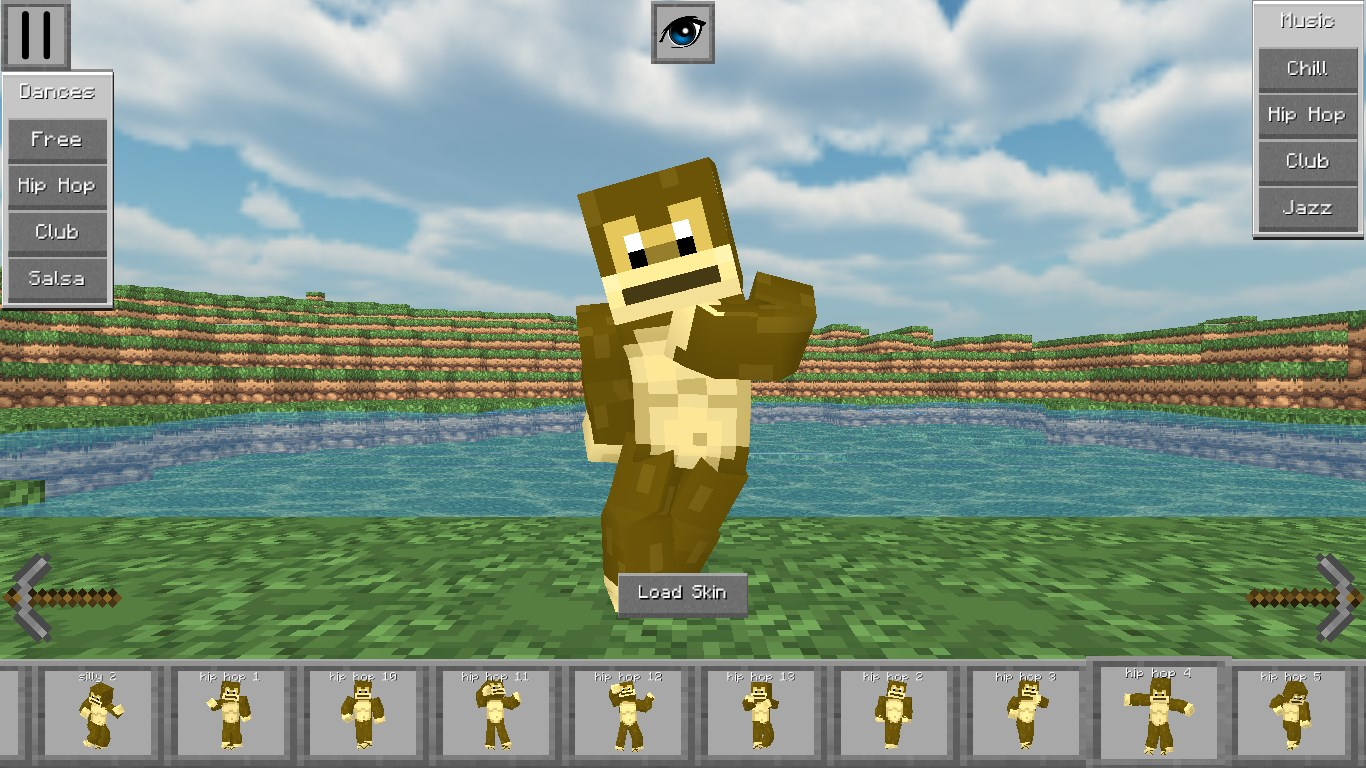 MineDance 12D - Skin Viewer for MineCraft Dance Edition for Windows 12