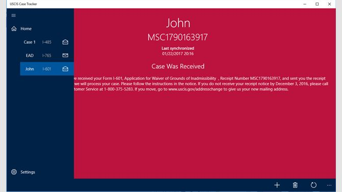 Get USCIS Case - Microsoft Store en-GB