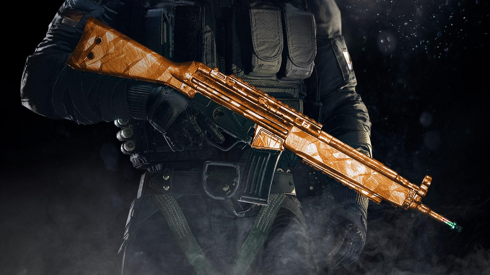 Tom Clancy's Rainbow Six Siege: Topaz weapon skin
