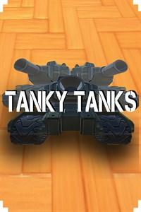 Carátula para el juego Tanky Tanks de Xbox 360